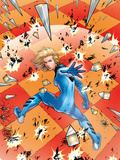 Ultimate Fantastic Four No17 Cover: Invisible Woman