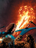 Fantastic Four No515 Cover: Mr Fantastic  Invisible Woman  Human Torch  Thing and Fantastic Four