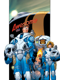 Ultimate Fantastic Four No15 Cover: Mr Fantastic