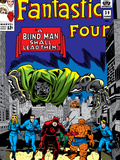 Fantastic Four No39 Cover: Dr Doom