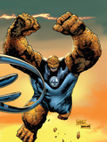 Ultimate Fantastic Four No57 Cover: Thing