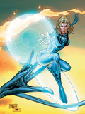 Ultimate Fantastic Four No55 Cover: Invisible Woman