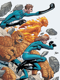 Marvel Age Fantastic Four No8 Cover: Mr Fantastic