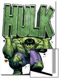 Marvel Adventures Hulk No4 Cover: Hulk