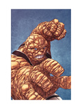 Fantastic Four No601 Cover: Thing with his Fist at the Ready