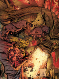 Incredible Hulks No634 Cover: Hulk and Fin Fang Foom Fighting