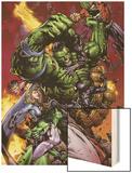 World War Hulk No2 Cover: Hulk