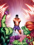 She-Hulks No3 Cover: She-Hulk  Lyra  and Klaw