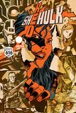 Red She-Hulk 67 Cover: Red She-Hulk