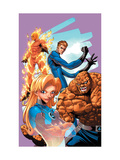 Marvel Age Fantastic Four No9 Cover: Mr Fantastic