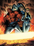 Fantastic Four No552 Group: Thing  Mr Fantastic  Invisible Woman and Human Torch