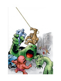 Marvel Monsters: Fin Fang Four No1 Cover: Fin Fang Foom