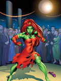 She-Hulks No4 Cover: Lyra