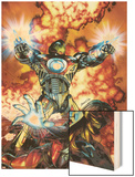 Ultimate Comics Armor Wars No2 Cover: Iron Man  Hammer and Justine