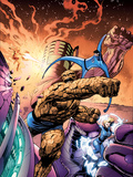 Fantastic Four No572 Cover: Thing  Invisible Woman  Mr Fantastic and Human Torch