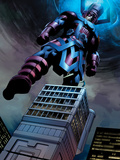 Fantastic Four No584: Galactus Flying