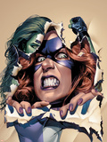 She-Hulk No10 Cover: She-Hulk and Titania