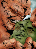 Hulk & Thing: Hard Knocks No2 Cover: Hulk and Thing Swinging