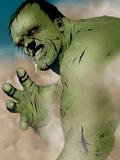 Hulk & Thing: Hard Knocks No1 Headshot: Hulk Charging