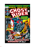 Marvel Spotlight No5 Cover: Ghost Rider
