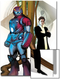 Ultimate Iron Man II No4 Cover: Iron Man  Stark and Tony