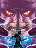 Son of Hulk No17 Cover: Galactus