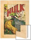 Marvel Comics Retro: The Incredible Hulk Comic Book Cover No109  the Lost Land of Ka-Zar (aged)