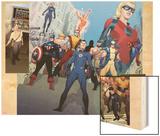Incredible Hulk No601 Group: Captain America