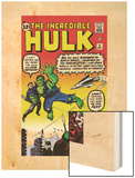 Marvel Comics Retro: The Incredible Hulk Comic Book Cover No3