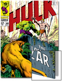 Marvel Comics Retro: The Incredible Hulk Comic Book Cover No109  the Lost Land of Ka-Zar