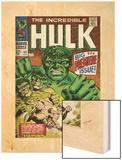 Marvel Comics Retro: The Incredible Hulk Comic Book Cover No102  Big Premiere Issue (aged)
