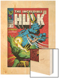 Marvel Comics Retro: The Incredible Hulk Comic Book Cover No110  with Umbu the Unliving (aged)