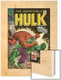 Marvel Comics Retro: The Incredible Hulk Comic Book Cover No106  Titan Rages (aged)