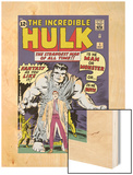 Marvel Comics Retro: The Incredible Hulk Comic Book Cover No1  with Bruce Banner