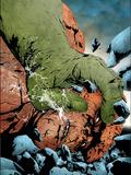 Hulk & Thing: Hard Knocks No1 Cover: Hulk and Thing Jumping