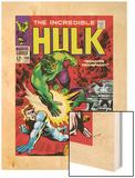 Marvel Comics Retro: The Incredible Hulk Comic Book Cover No108  with Nick Fury