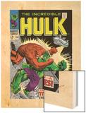 Marvel Comics Retro: The Incredible Hulk Comic Book Cover No106  Titan Rages