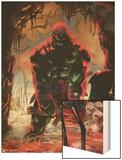 Skaar: Son Of Hulk No3 Cover: Skaar Jumping
