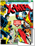 Marvel Comics Retro: The X-Men Comic Book Cover No100  Professor X
