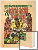 Marvel Comics Retro: Luke Cage  Hero for Hire Comic Book Cover No15  in Chains