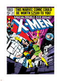 Marvel Comics Retro: The X-Men Comic Book Cover No137  Phoenix  Colossus
