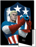 The Marvels Project No5 Cover: Captain America