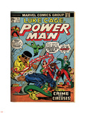 Marvel Comics Retro: Luke Cage  Hero for Hire Comic Book Cover No25  Crime and Circus (aged)