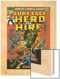 Marvel Comics Retro: Luke Cage  Hero for Hire Comic Book Cover No6  Assassin in Armor!