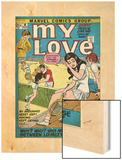 Marvel Comics Retro: My Love Comic Book Cover No16  Tennis  Pathos and Passion (aged)