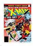 Marvel Comics Retro: The X-Men Comic Book Cover No103  Storm  Nightcrawler  Banshee & Juggernaut
