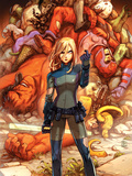 Marvel Adventures Super Heroes No19 Cover: Invisible Woman