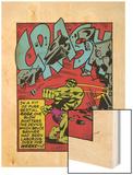 Marvel Comics Retro: The Incredible Hulk Comic Panel  Rage and Crash (aged)