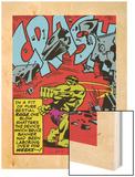 Marvel Comics Retro: The Incredible Hulk Comic Panel  Rage and Crash