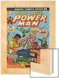Marvel Comics Retro: Luke Cage  Hero for Hire Comic Book Cover No25  Crime and Circus